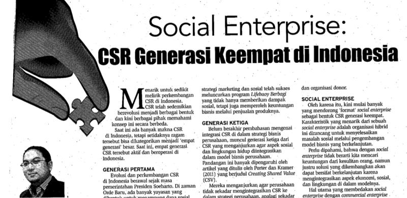 CSR Generasi Keempat